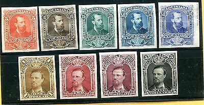 Complete set of Louisiana Law Proofs + 2 Extra Shades (Lot #rr82)