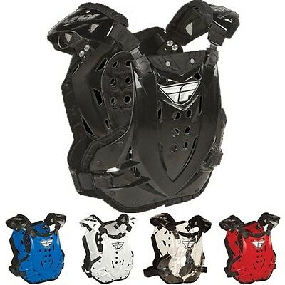 FLY Stingray Protective Armor Gear Motocross Chest Roost Guards