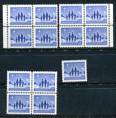 Specialized Group of MNH Tagged Fluorescent 5c 1964 XMAS (CV $82.50)(Lot #rn93)