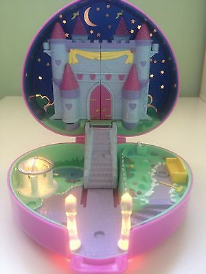 Bluebird 1992 Polly Pocket Starlight Castle Playset Completed