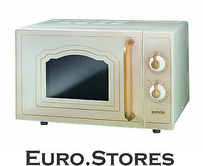 Gorenje MO4250CLI Microwave Oven Retro Design Ivory 800W 20L Volume Genuine NEW