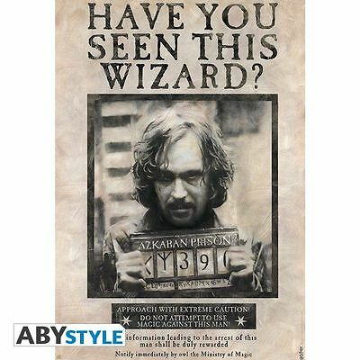 HARRY POTTER - Poster grand format Wanted Sirius Black (380)