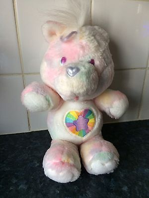 Exceptional Condition Vintage 1986 Noble Heart Horse Care Bear Cousin Soft Toy