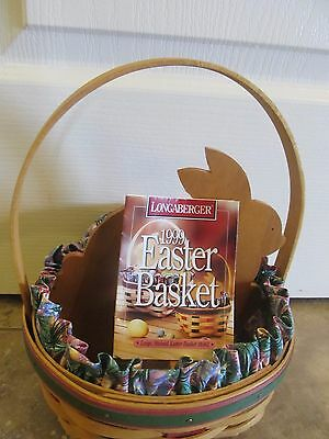 Longaberger  Easter Basket Combo with insert 1999