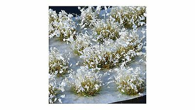 Gamer's Grass White Flowers – GG011 – model railway / wargame – free post