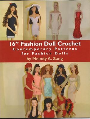 "16"" Fashion Doll Crochet Contemporary Patterns"