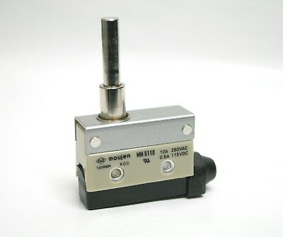 MN-5110 MOUJEN Long Top Button Plunger Side Mount Limit Switch 10A 1NO 1NC IP65