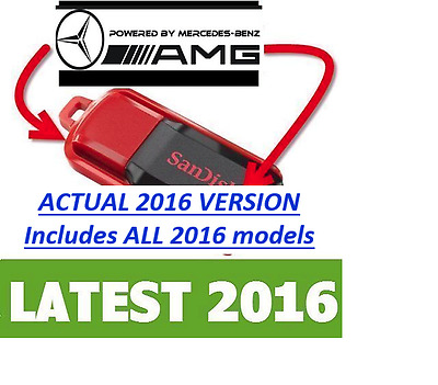 LATEST 2016 Mercedes - WIS ASRA & EPC  **Supplied on USB Memory Drive**