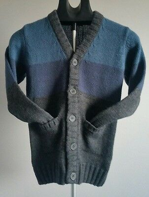 New with Tags Mexx Boys Cardigan Size 8-10 Years