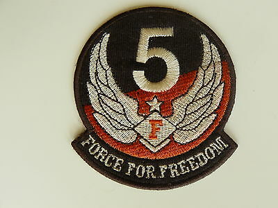 FORCE FOR FREEDOM Patch Aufnäher Patches