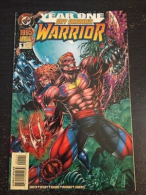 Guy Gardner Warrior Annual#1 Incredible Condition 9.4 Flint Henry Art(1995)