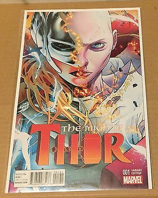 The Mighty Thor #1 - 2016 - Russell Dauterman Variant Cover - NM - FREE P&P