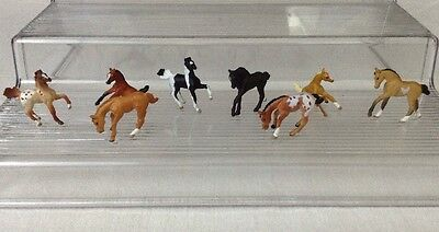 Breyer Horses Mini Whinnies #300109 Foal Collection COMPLETE 8 Horses Playset
