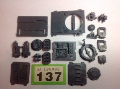 Warhammer 40K Space Marines Bits, Vehicle + Squad Parts, Spares Lot. #137