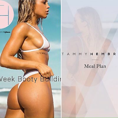 Tammy Hembrow 8 Week Booty Building Guide And Meal Plan Like Kayla Itsines