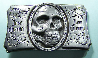 Jose Cuervo -Skull Belt Buckle -brought to you by Velvet Messiah