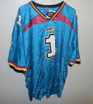 Xfl Memphis Maniax Football Jersey Champion Size Xxl 52 New With Tags Nwt