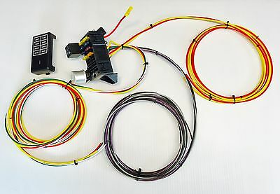 keep it clean procomp wiring harness procomp12b • 137 75 picclick 10 circuit 8 fuse universal wiring harness race rat rod w us made gxl quality