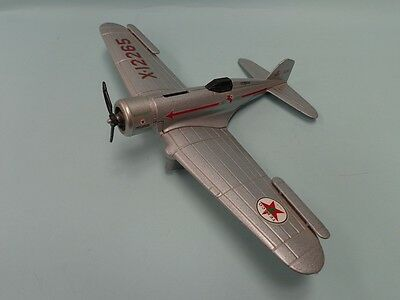 Texaco Metal Toy Airplane -  Northrop Gamma - Wings Of Texaco By Ertl