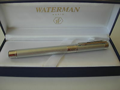 Waterman  Perspective Silver Fountain F