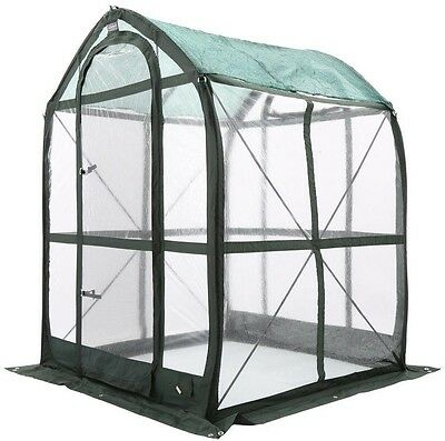 Pop-Up Greenhouse, FlowerHouse PlantHouse 5 ft x 5 ft Portable Headroom Screens