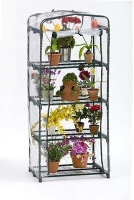 Portable Pop-Up Greenhouse FlowerHouse PlantTower Shelving 1 ft 7 in x 2 ft 3 in