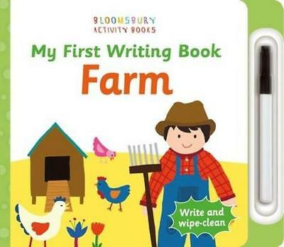 NEW My First Writing Book Farm By BLOOMSBURY CHILDREN Board Book Free Shipping