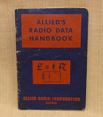 Allied's Radio Data Handbook 1943 Nelson M.Cooke Radio Formulas Tables Charts