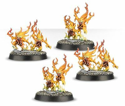 Warhammer Quest Silver Tower 4 x Brimstone Horrors Age of Sigmar