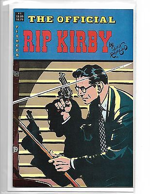 The Official Rip Kirby #1 By Alex Raymond Pioneer Press