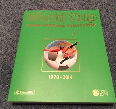 World Cup 1970-2014 Panini Football Soccer Collection Album Book Perfect Gift