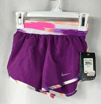 Nike Girs Tempo Rival Dri-Fit Shorts Bold Berry NWT size 6X
