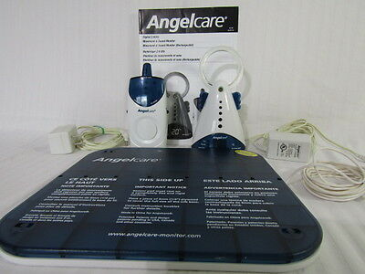 Angelcare, Movement & Sound Baby Monitor, 1 Receiver Unit, 1 Base Unit, 1 Motion