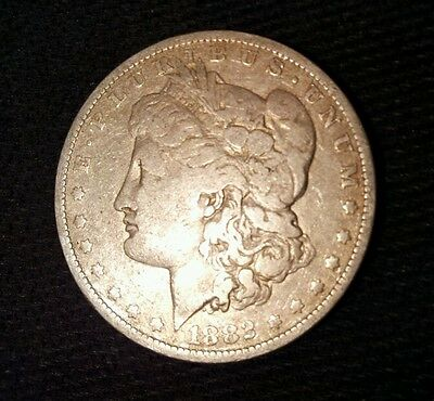 1882-O $1 Morgan Silver Dollar
