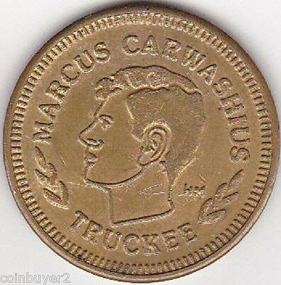 Cross Roads Carwash Token - Marcus Carwashius Truckee   **LAST ONE**