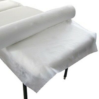 Box of 10 Rolls Disposable Beauty Bed Table Sheet Cover Extra wide 100  x 80 wd