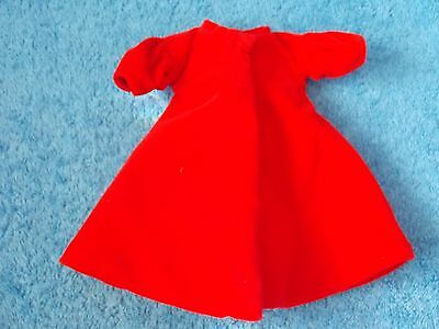 Barbie Doll - Silken Flame - Lined Red Coat - Repro - Only