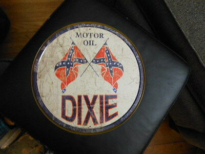 OLD vintage southern pride GAS & OIL TIN DIXIE  GAS SIGN