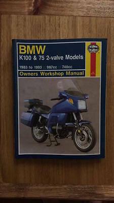 BMW K100 & 75 Valve Models Service Manual