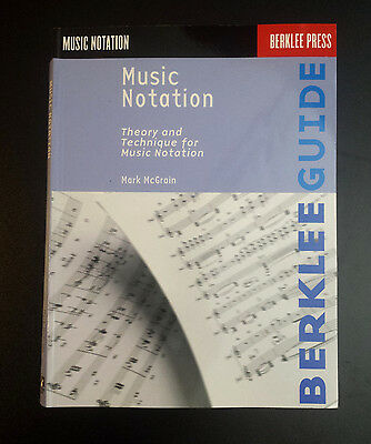 Music Notation: Theory and Technique for Music Notation (Berklee Press)