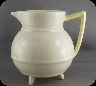 Belleek Aberdeen 3 footed Cream Jug Creamer Irish Pot Shape