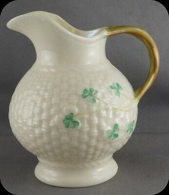 Belleek Shamrock Cream Jug Creamer