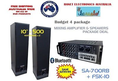 Vietnamese Super Home Karaoke Budget 4 package deal- Fast shipping in AU
