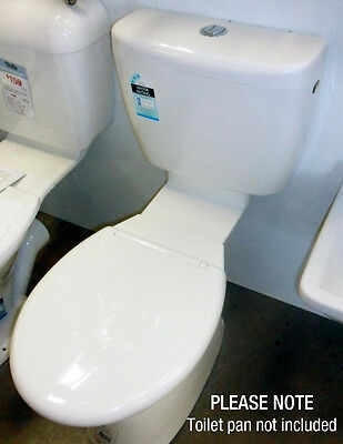 NEW - Marbletrend Cistern, Seat & Link White Only G1203