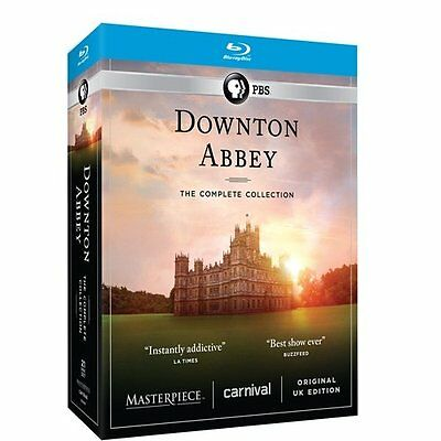 DOWNTON ABBEY 1-6 Blu-Ray dvd the Complete Series Collection Season 1 2 3 4 5 6