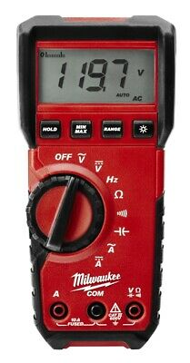 Milwaukee 2216-40 Digital-Multimeter Batterietester Strom Spannung 4933427309