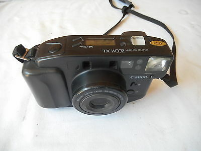 VINTAGE CANON SURE SHOT ZOOM XL Point & Shoot Zoom 35mm Film Camera