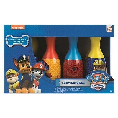 Paw Patrol Bowling Set - Brand New - Great Indoor & Outdoor Game For Children!