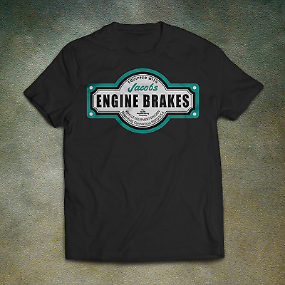 Jacobs Engine Brakes T-Shirt - Jake Kenworth Cummins Truck Ute 4X4 Diesel Tee