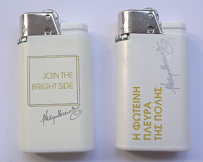 Philip Morris Lot 2 Djeep Promo Lighters NEW Old Stock